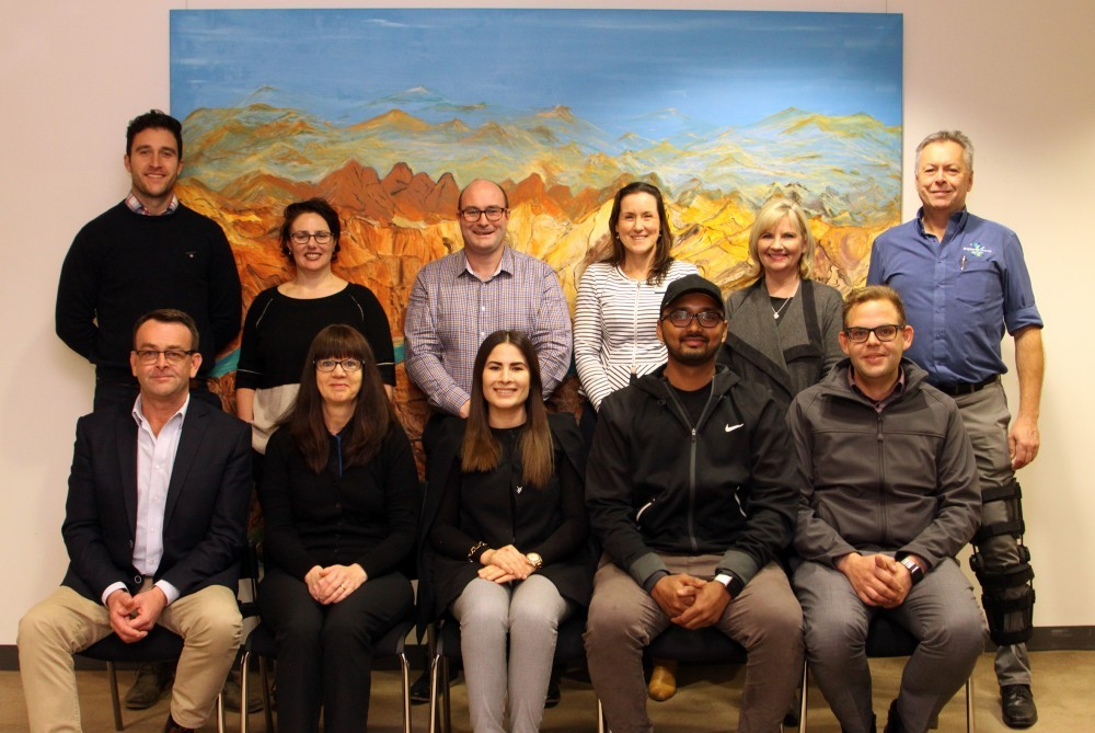 Pictured: (Top row L-R) Shane Sali, Fiona Le Gassick, Simon Quattrocchi, Geraldine Christou, Cr Kim O'Keeffe and Mat Innes-Irons.  (Bottom row L-R) Andrew Pogue, Helen Sofra, Kristina Marko, Kruz Patel and Chris Reisner. Picture taken by The Shepparton Adviser