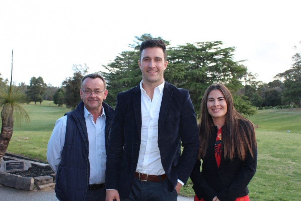 Pictured: (L to R) Andrew Pogue (Deputy Chairperson), Shane Sali (Chairperson) and Kristina Marko (Treasurer).