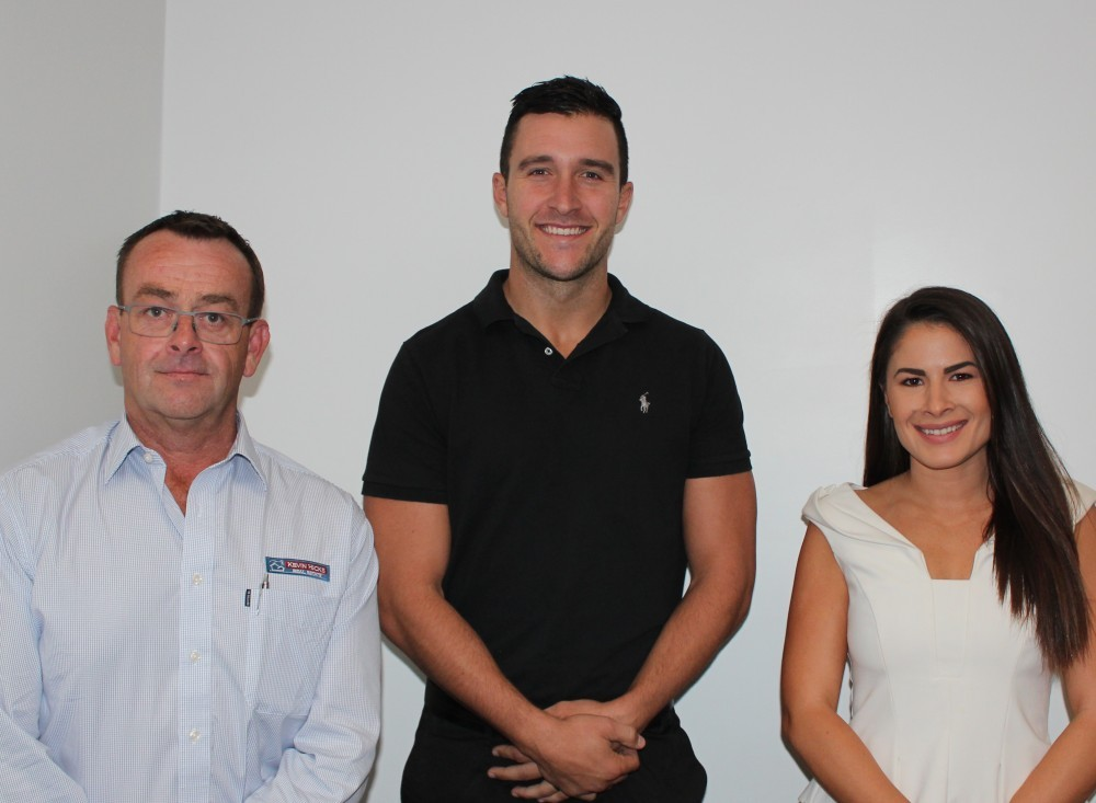Pictured: Current SSM Executive Team; Andrew Pogue (Deputy Chair), Shane Sali (Chair) and Kristina Marko (Treasurer).